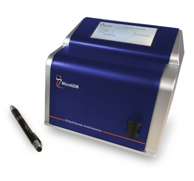 The PDQeX Nucleic Acid Extractor simplifies molecular biology workflows.